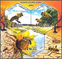 TURKEY 2014, FAUNA, BEES, MNH SET (MiNo 4117/19) In GOOD QUALITY, *** - 1921-... Republic