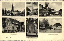 Cp Marl In Nordrhein Westfalen, Zeche Brassert, Leo Kottowitz Straße, St. Georgskirche, Goetheschule - Other