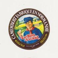 ETIQUETTE DE CAMEMBERT ULN DUCEY 50 AN - Cheese