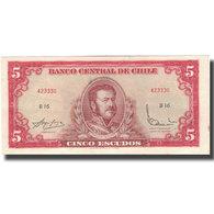 Billet, Chile, 5 Escudos, KM:138, SUP - Chili