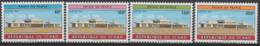 Tchad Chad Tschad 1993 Mi. 1227 - 1230 Palais Du Peuple Architecture Architektur - Chad (1960-...)