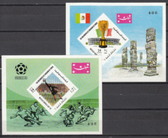 Football / Soccer / Fussball - WM 1970: Yemen  2 SoBl **, Imperf. - World Cup