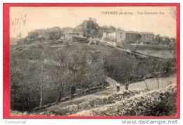 CPA 07 BOFFRES  Vue Générale Est Canton De Vernoux-en-Vivarais - France