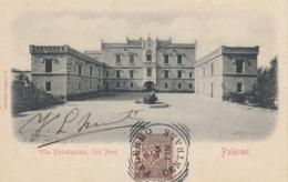PALERMO-VILLA PIETRATAGLIATA,COTE NORD -CARTOLINA VIAGGIATA  NEL 1903 - Palermo