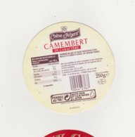 ETIQUETTE DECAMEMBERT CF&R  DUCEY 50 168 CHENE D ARGENT CARTON - Cheese