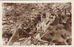 ST.ALBANS ABBAY - Fotokarte Gel.1956 - Hertfordshire