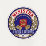 ETIQUETTE DE FROMAGE MINISTRE CLAUDEL 50 L - Cheese