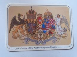 D168609 Coat Of Arms Of The Austro-Hungarian Empire -Austrie Hungary Croatia Slovakia Slovenia Transylvania - Cartoline