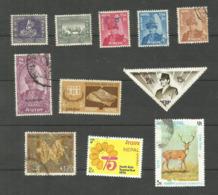Népal N°95, 99, 144 à 147, 248, 268, 279, 290, 293 Cote 3.20 Euros - Nepal