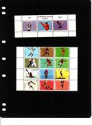 2012 St. Maarten London Olympics Basketball Cycling Volleyball Complete Set Of 12 MNH @70% FACE VALUE - Curaçao, Antille Olandesi, Aruba