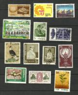 Népal N°248, 290, 298, 301, 310, 317, 319, 326, 333, 337, 339, 344, 346 Cote 3.80 Euros - Nepal
