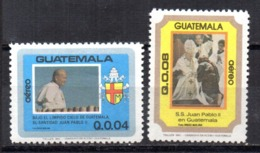 Serie Nº A-779/80  Guatemala - Guatemala