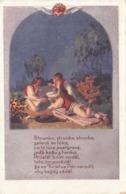 STRUNKA, Strunka … Künstlerkarte Gel.191? Nach Meran - Künstlerkarten