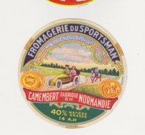 ETIQUETTE DE CAMEMBERT LEPETIT SAINT MACLOU 14 AH  LE SPORTSMAN - Cheese