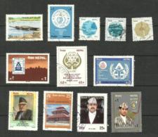 Népal N°414, 434, 439 à 441, 450, 451, 453, 454, 454A, 455, 457 Cote 3.10 Euros - Nepal