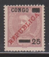 PORTUGUESE CONGO Scott # 58 MH - Portuguese Congo
