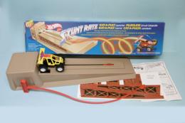 Hot Wheels - Circuit STUNT RATZ CATAPULTE + VOITURE 1986 Réf. 3172 Neuf - HotWheels