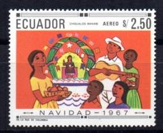 Sello  Nº A-494 A   Ecuador - Ecuador