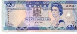 Fiji P.88 20 Dollars  1992 Au+ - Figi
