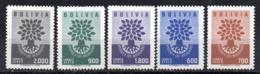 Serie Nº A-189/93  Bolivia - Bolivia