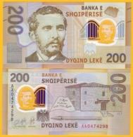 Albania 200 Leke P-new 2019 UNC Polymer Banknote - Albanië