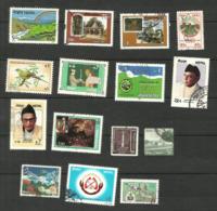 Népal N°495 à 497, 499, 501, 508, 513, 514, 516, 520, 524, 526, 527, 529, 534 Cote 3.25 Euros - Nepal