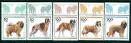 1996 Dogs,Chow Chow,Borzoi,St.Bernard,Collie,Germany,M.1836,TAB-Chow Chow,Borzoi - Farm