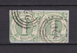 Thurn Und Taxis - 1859/61 - Michel Nr. 20 - Briefst. - Gest. - 30 Euro - Thurn Und Taxis