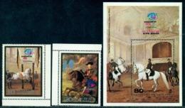 Korea 1984 Rubens,Spanish Riding School,Vienna,Horse,Blaas,M.2448,Bl.172,MNH - Farm
