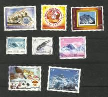 Népal N°776, 829, 831, 840 à 842, 848, 849 Cote 3.25 Euros - Nepal