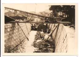Travaux D'une Rivière Dans Une Ville Au Japon - Photo Originale Du JAPON - - Ohne Zuordnung