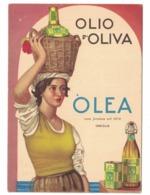 CARTOLINA POSTALE  OLIO DI OLIVA  OLEA Oneglia - Pubblicitari