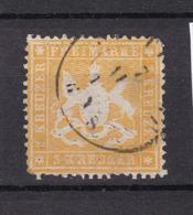 Württemberg - 1860 - Michel Nr. 17 Y - Gest. - 80 Euro - Wuerttemberg