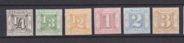 Thurn Und Taxis - 1866 - Michel Nr. 45/50 - Postfrisch - Thurn Und Taxis
