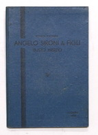 Catalogo Materiali Da Riscaldamento - Angelo Sironi E Figli - Milano - Ed. 1933 - Libros, Revistas, Cómics