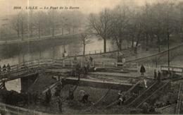 LILLE LE PONT DE LA BARRE - Lille