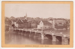 ° SUISSE ° CANTON DE BALE ° GENERAL - ANSICHT VON BASEL ° VUE GENERALE DE BALE  ° PHOTO ° - Alte (vor 1900)