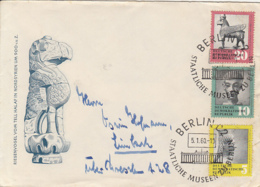 BERLIN MUSEUM, ARCHEOLOGY, SPECIAL COVER, 1960, GERMANY - [6] Democratic Republic
