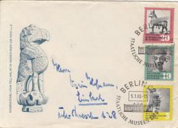 BERLIN MUSEUM, ARCHEOLOGY, SPECIAL COVER, 1960, GERMANY - [6] República Democrática