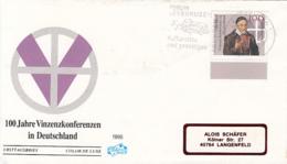 VINZENZ CONFERENCE, ST VINCENT DE PAUL, COVER FDC, 1995, GERMANY - FDC: Covers