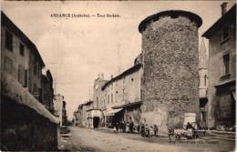FR07 ANDANCE - Tour Féodale - Animée - Belle - France