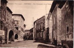 FR07 BOFFRES - Rue Principale Et La Poste - Animée - Belle - France