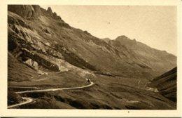 CPA -  LE LAUTARET - ROUTE SUR BRIANCON - VALLEE DE LA GUISANNE  (ETAT PARFAIT) - France