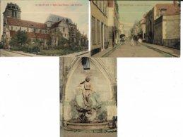 60 - Lot De 3 Cartes Postales De BEAUVAIS ( Oise  ) - Voir Le Scan - Beauvais