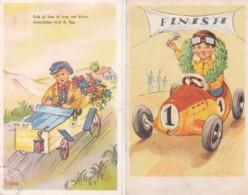 1955163Ook Al Ben Ik Nog Wat Klein…2 Kinderkaarten. - Humorous Cards