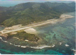 SEYCHELLES -  VUE AERIENNE AEROPORT INTERNATIONAL MAHE - Seychelles