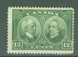 Canada: 1927   60th Anniv Of Confederation (Historical Issue)   SG272    12c     MH - Unused Stamps