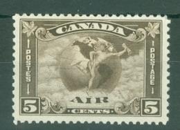 Canada: 1930   Air - Mercury    SG310    5c     MH - Unused Stamps