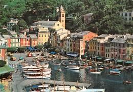 Cartolina Portofino Porticciolo Dall'alto Barche - Imperia
