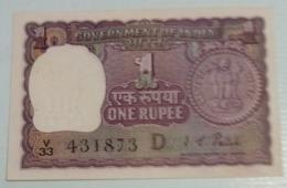 431873..1972...1 Rupee ..India Inde Notes.. - Indien